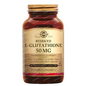 Solgar L-Glutathione Reduced 50 mg 90 capsules