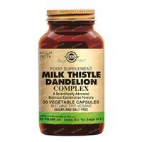 Solgar Milk Thistle Dandelion Complex 50  capsules