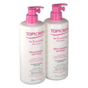 Topicrem Liberty Ultra Hydraterende Lichaamsmelk Limited Edition Duo 2x500 ml