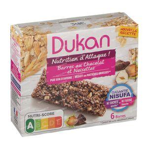 Dukan Bar Chocolat with Nuts 6 pieces