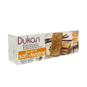 Dukan Vanilla Cookie Pavot 18 pieces