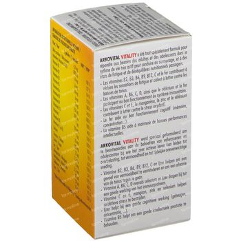 Arkovital Vitality 120 capsules