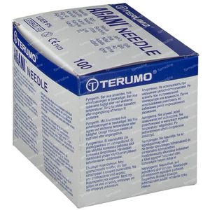 Terumo Agani Aiguille Jetable 18gx1 1/2 rb 1,2x40 100 pièces