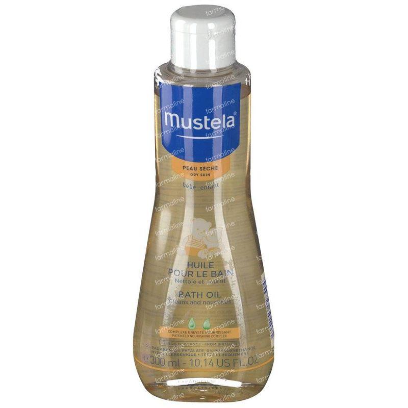 Mustela Baby Bath Oil Dry Skin 300 Ml Order Online