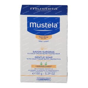 Mustela Baby Gentle Soap With Cold Cream Dry Skin 150 g