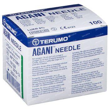 Terumo Naald Agani 21g 1 1/2 Rb Vert5 100 pièces