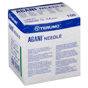 Terumo Agani Aiguille Jetable 21gx2 RB 0,80x50 100 pièces