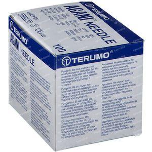 Terumo Agani Aiguille Jetable 22gx1 1/2 0,70x40 100 pièces