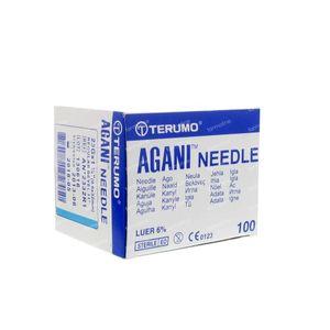 Terumo Agani Disposable Needle 23gx1 1/4 0,60x30 100 St