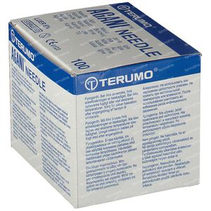 Terumo Agani Disposable Needle 23gx1 0,60x25 100 pieces
