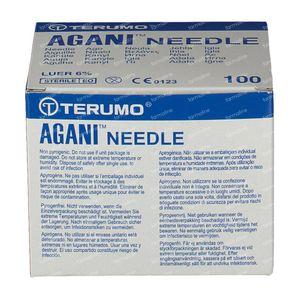 Terumo Agani Disposable Needle 23gx1 0,60x25 100 St