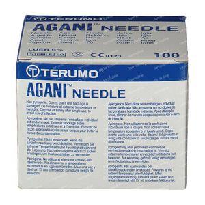 Terumo Agani Disposable Needle 24gx1 0.55x25 100 pieces