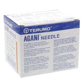 Terumo Agani Aiguille Jetable 25gx5/8 rb 0.50x16 100 st