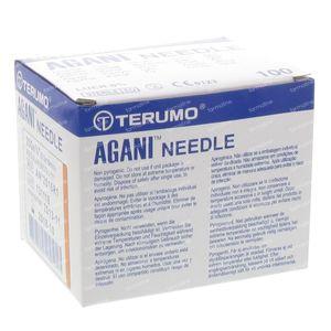 Terumo Agani Aiguille Jetable 25gx5/8 rb 0.50x16 100 pièces