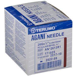 Terumo Agani Aiguille Jetable 26gx1/2 rb 0,45x12 100 pièces
