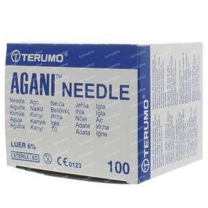 Terumo Agani Disposable Needle 26gx7/8 rb 0,45x23 100 St