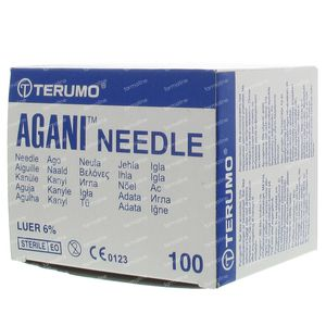 Terumo Agani Disposable Needle 26gx7/8 rb 0,45x23 100 pieces