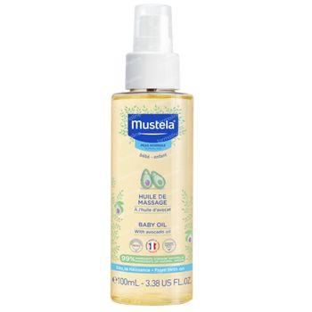 Mustela Bébé Huile De Massage Peau Normale 110 ml spray