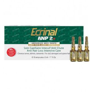 Ecrinal ANP 2 Anti Hairloss Intensive Care 40 ml ampoules
