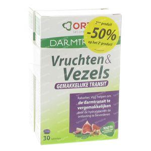 Ortis Vruchten + Vezels Transit 60 St tabletten