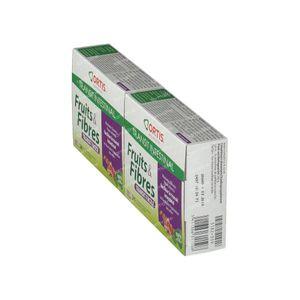 Ortis Fruits & Fibre Transit Facile Cube Prix Réduit 48 pièces