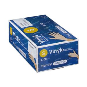 Handschuhe CMT Latex Weiß ohne Pulver Extra Small 100 st
