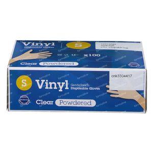 Handschoen CMT Latex Wit zonder Poeder Extra Small 100 stuks