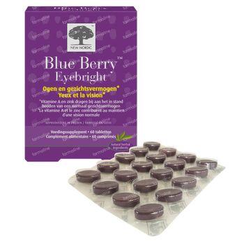New Nordic Blue Berry Strong 60 comprimés