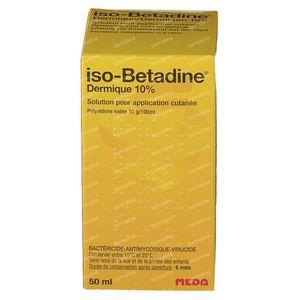 iso-Betadine Dermicum 50 ml oplossing