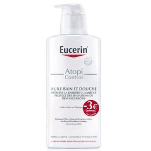 Eucerin AtopiControl Bath And Shower Oil Reduced Price 400 ml