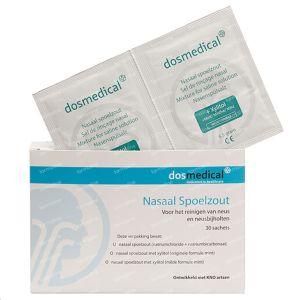 Nasaal spoelzout 6.5 g mild 30 Stuks Zakjes