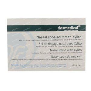 Dos Medical Sel De Rinçage Nasal + Xylitol 30 sachets