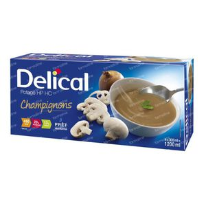 Delical Soupe HP HC Champignons 1200 ml