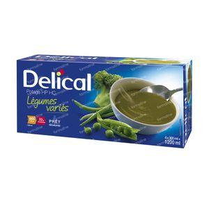 Delical Soupe HP HC Légumes Variés 1200 ml