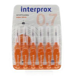 Interprox Premium Interdentale Super Micro Orange 0.7 mm 6 st
