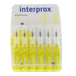 Interprox Premium Brosse Interdentaire Mini Jaune 3mm 6 pièces