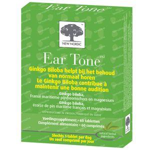 New Nordic Tone Gehoor Evenwicht Zenuwen 60 tabletten