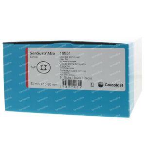 Sensura Mio Convex Click 2d Pl 15-30mm 16951 5 pièces