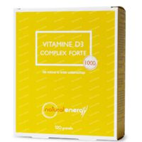 Natural Energy Vitamine D3 Complex Forte 120  kapseln