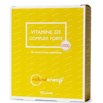 Natural Energy Vitamine D3 Complex Forte 120 capsules