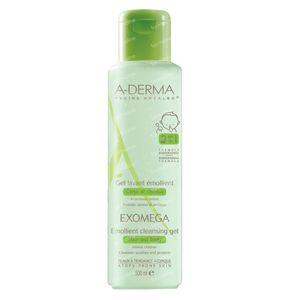 A-Derma Exomega Cleansing Gel 2in1 Hair & Body 500 ml