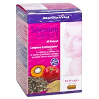 Mannavital Selenium + Vitamin ACE 60  kapseln