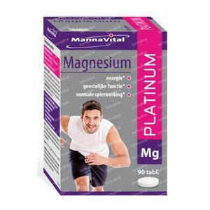 Mannavital Magnesium Platinum 90 St Tablets