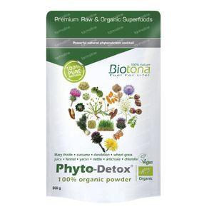 Biotona Bio Phyto-Detox 200 g Poeder