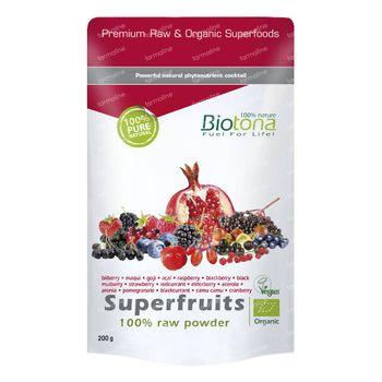 Biotona Bio Superfruits 200 g poeder