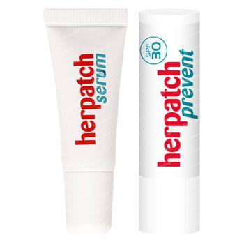 Herpatch Sérum Boutons de Fièvre + Prevent Stick 5 ml + 4,8 g