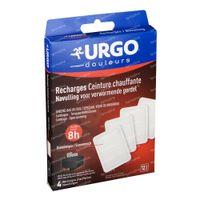 Urgo Recharges pour Ceinture Chauffante 4 pièces