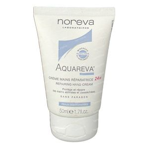 Noreva Aquareva Crème Mains Réparateur 24u 50 ml