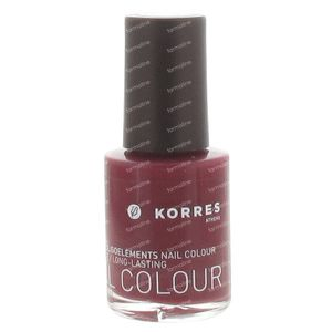 Korres Nail Colour 60 Berry Rose 10 ml