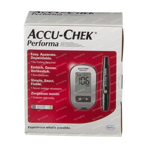 Accu-Chek Performa mg/dl Startkit 1 item